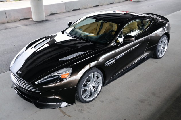 2014 Aston Martin DBS Black