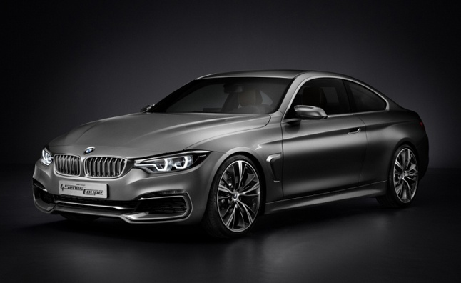 2014 BMW 4 Series Coupe Concept