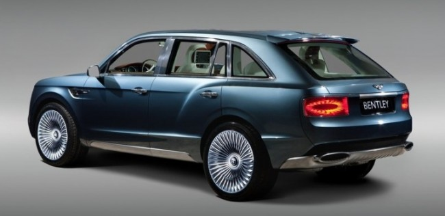 2014 Bentley SUV Redesign