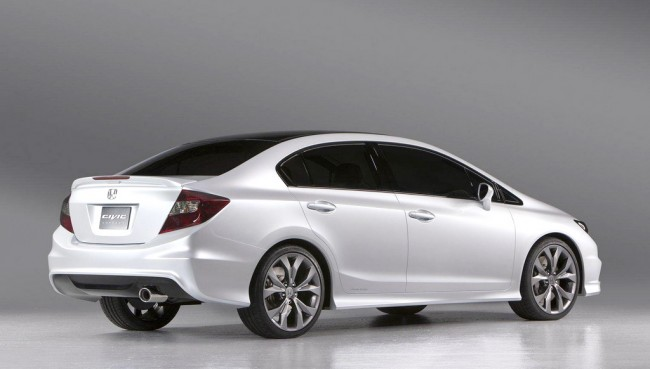 Honda Civic 2012 White