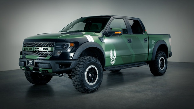 2014 Ford Raptor Green