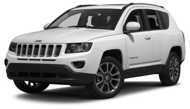 2014 Jeep Compass White