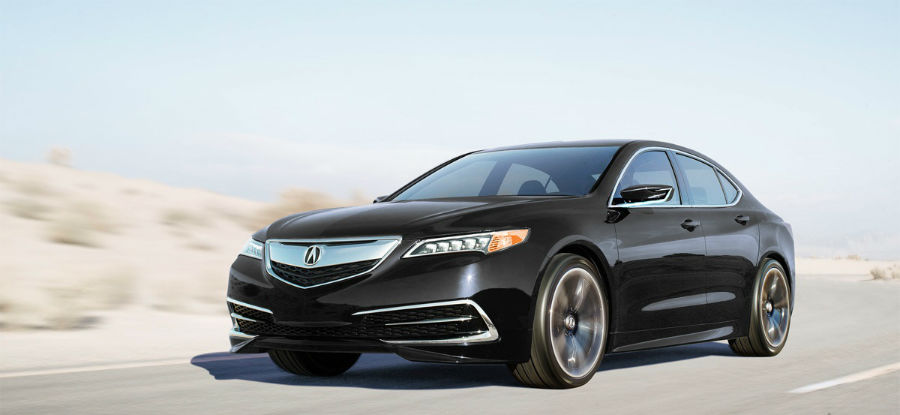 2015 Acura TLX Rendering