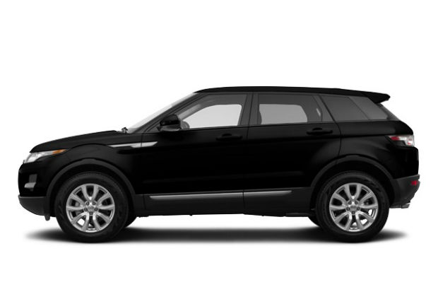 2015 Land Rover Range Rover Evoque Black