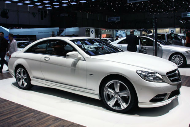 Mercedes Benz CL Class Coupe