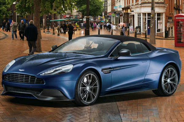 2015 Aston Martin DB9 Volante Official Photos