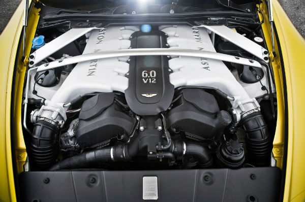 2015 Aston Martin Vantage V12 Engine