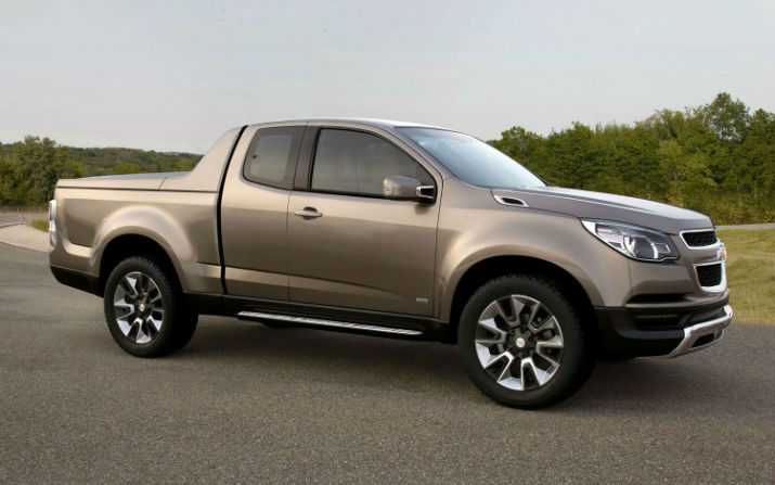2016 Chevy Avalanche Concept