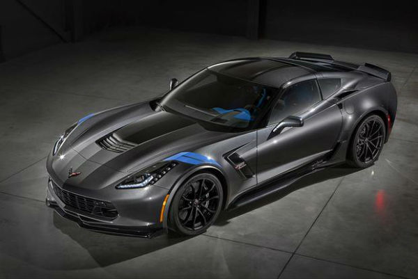 2017 Chevrolet Corvette Stingray Model