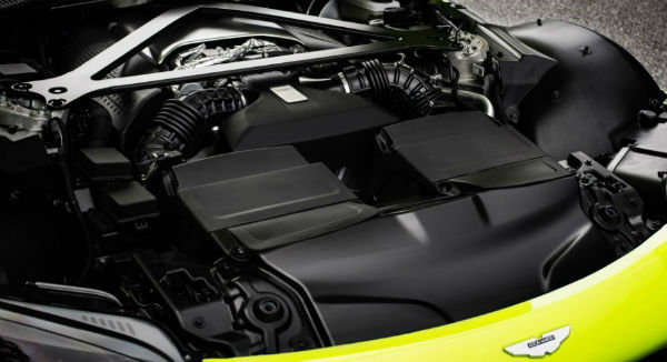 2019 Aston Martin Vantage Engine