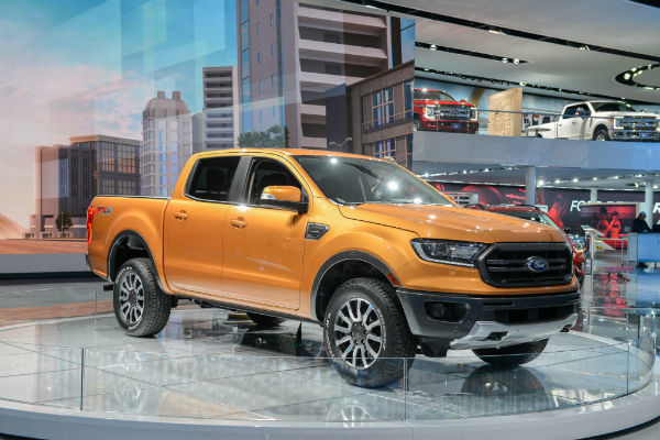 2019 Ford Ranger Super Cab