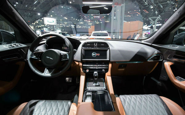 2019 Jaguar F Pace Interior