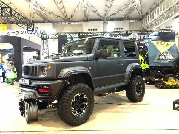 2019 Suzuki Jimny Lifted