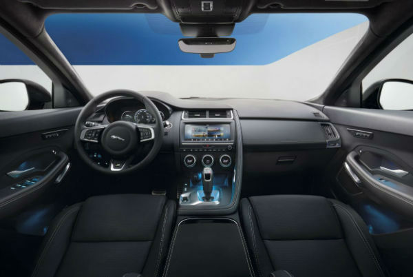 Jaguar F Pace 2019 Interior