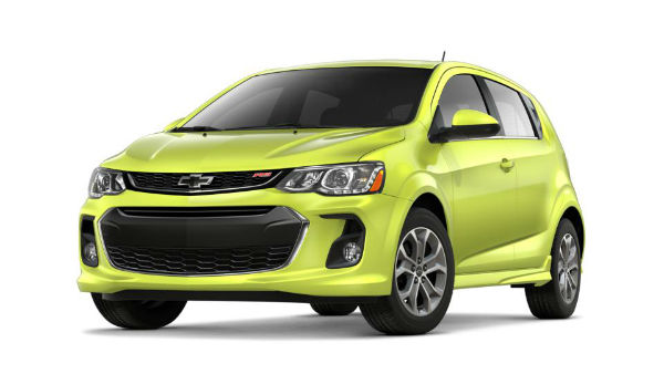 2020 Chevrolet Sonic RS
