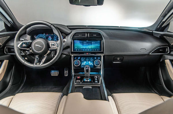 2020 Jaguar XF Interior