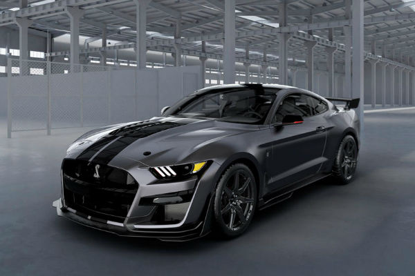 2020 Mustang Shelby GT500 Black