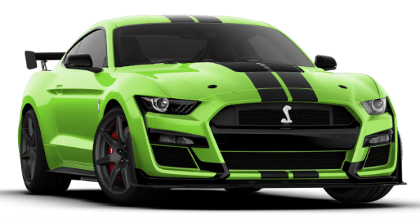 2020 Mustang Shelby GT500 Green