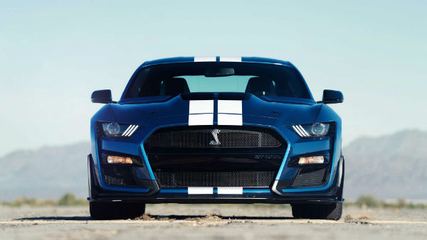 2020 Mustang Shelby GT500 India