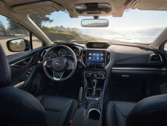 2020 Subaru Crosstrek Limited Interior